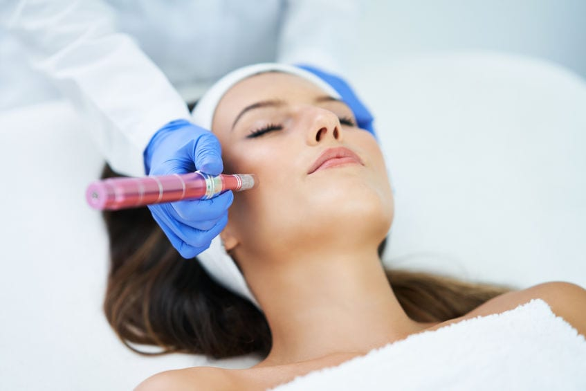 Mesotherapy Session