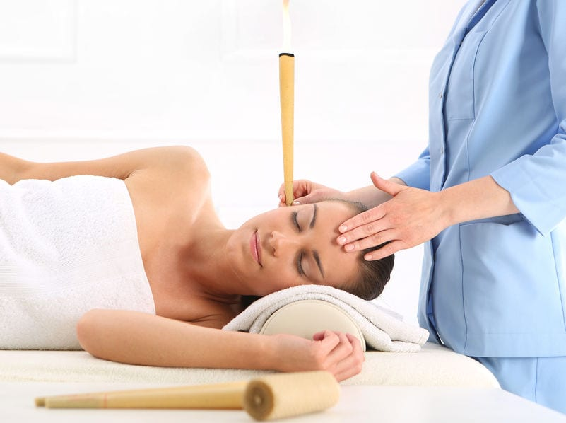 ear cleaning candling