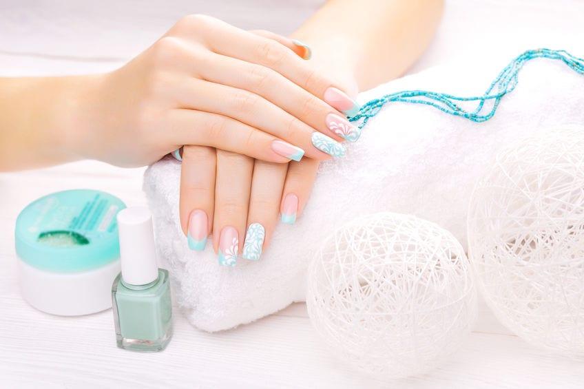 hands care manicure